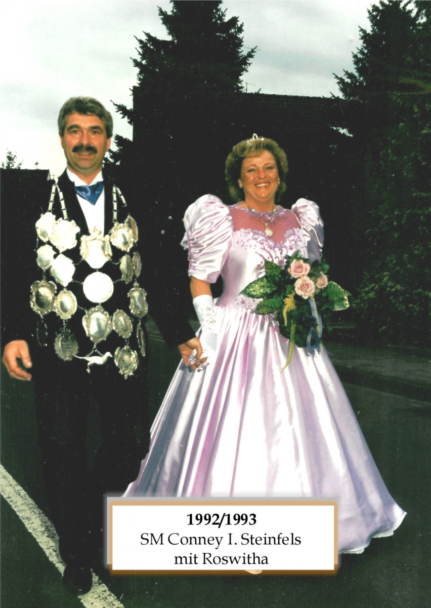 SM 1992/93 Conney I Steinfels mit Roswitha