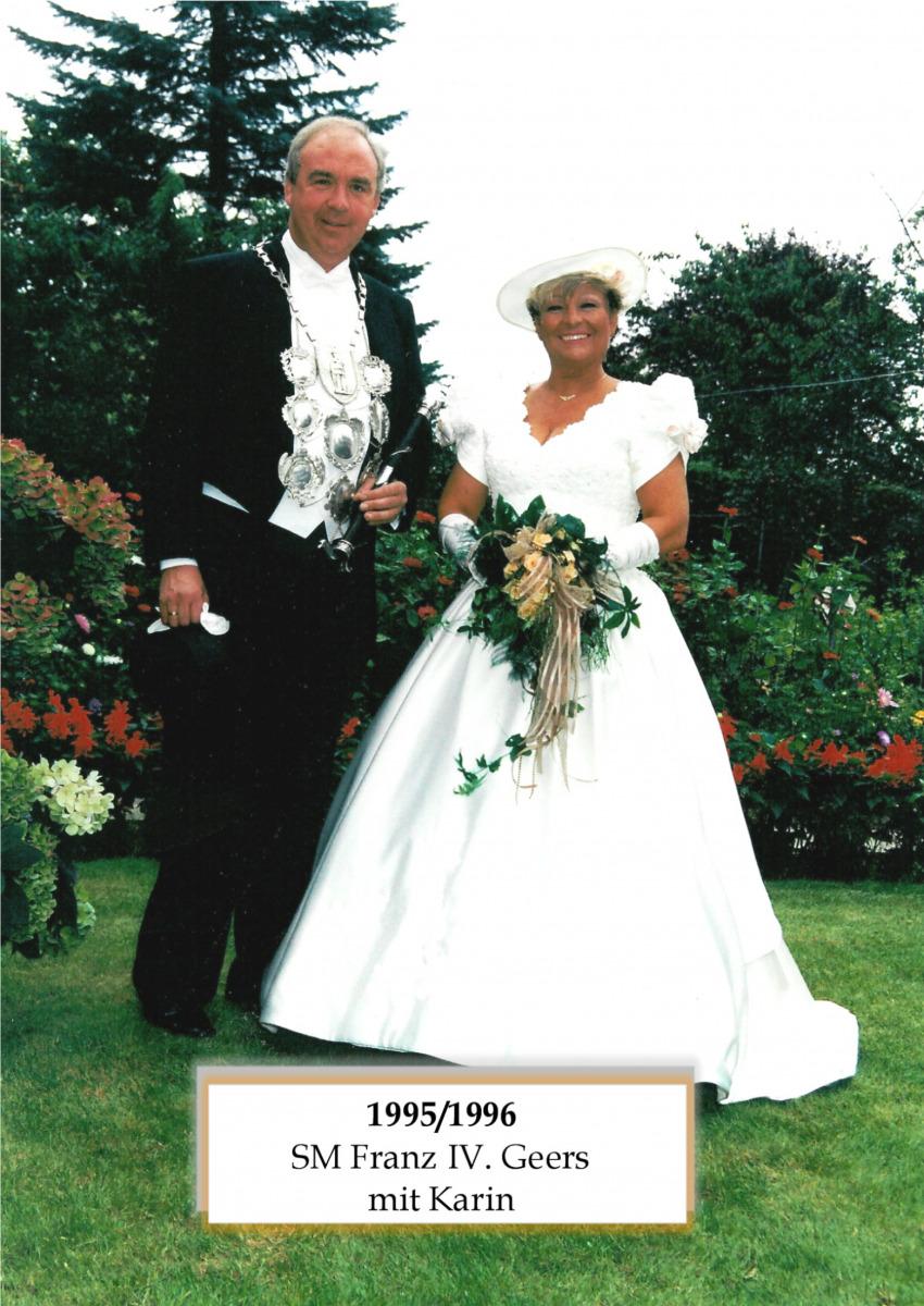 SM 1995/96 Franz IV Geers mit Karin