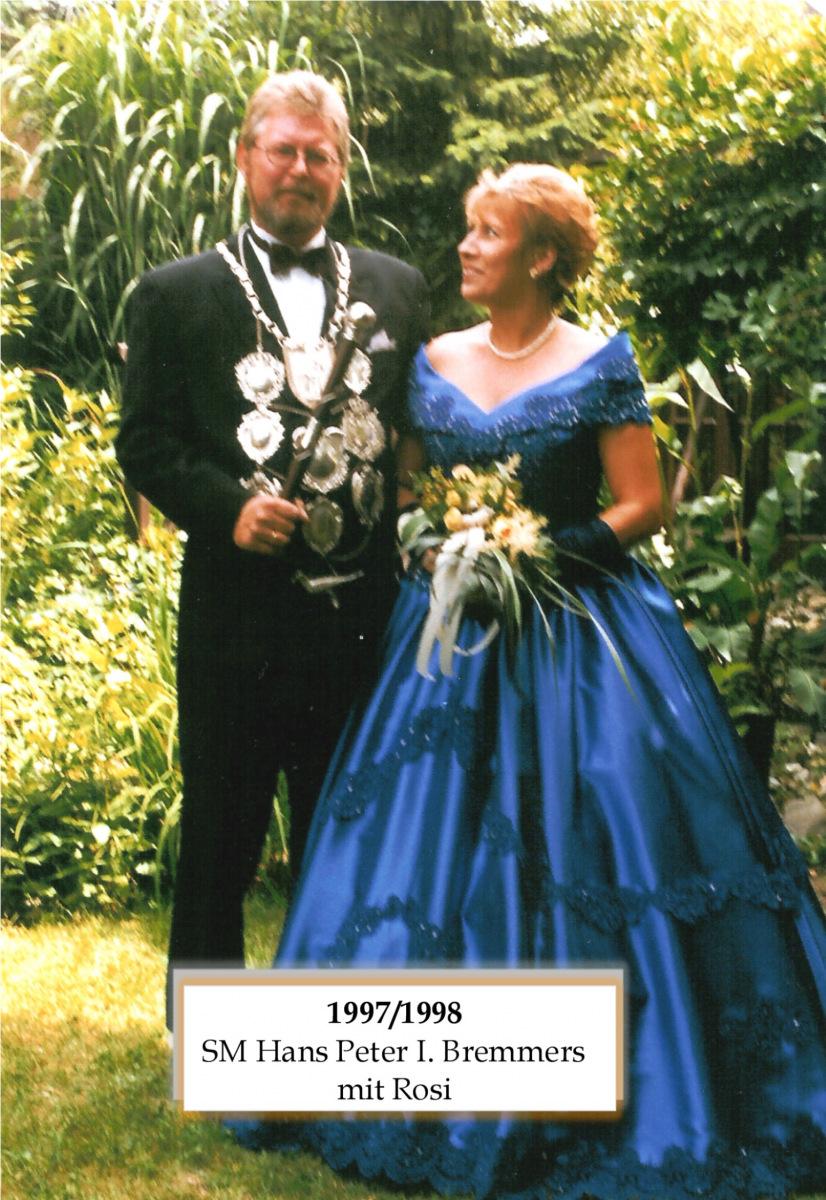 SM 1997798 Hans Peter I Bremmers mit Rosi