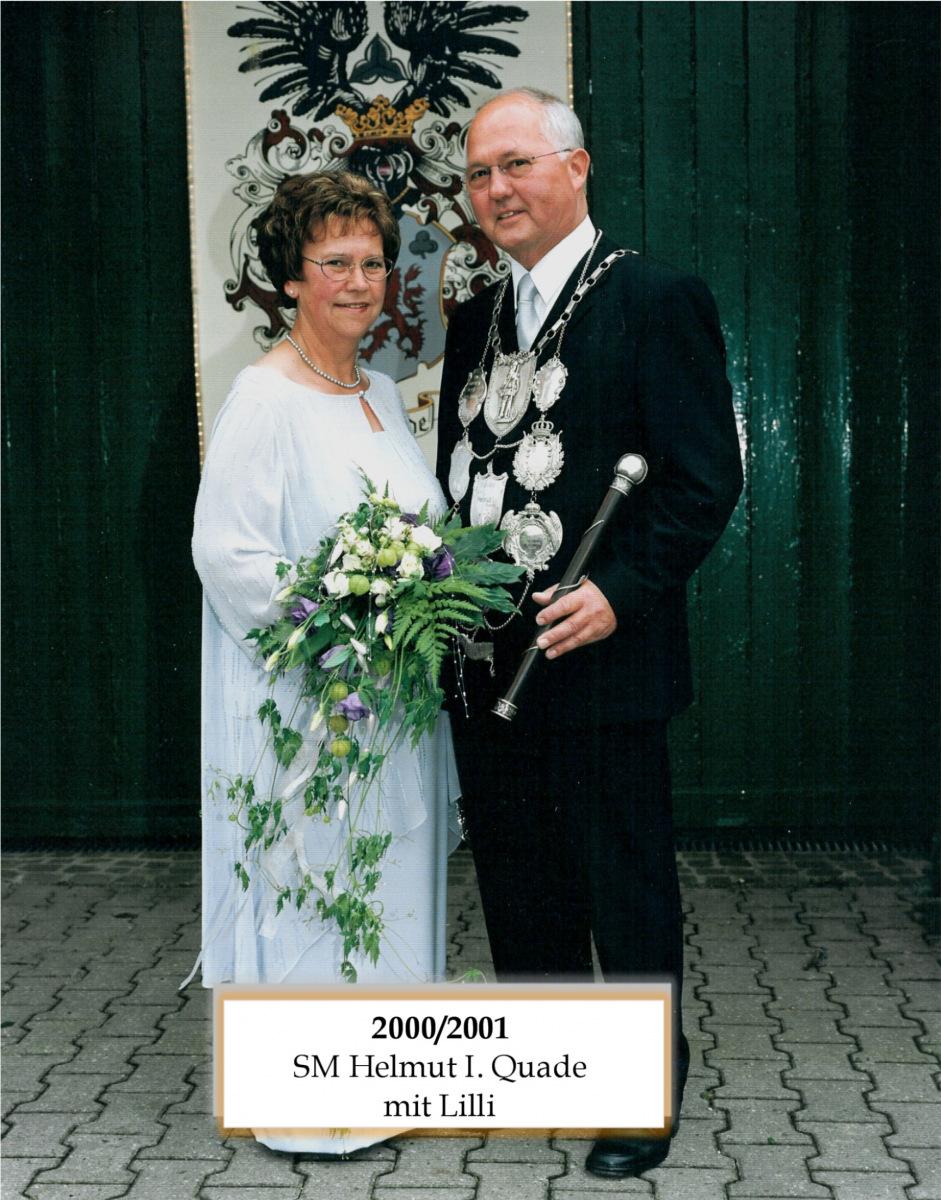 SM 2000/01 Helmut I Quade mit Lilli
