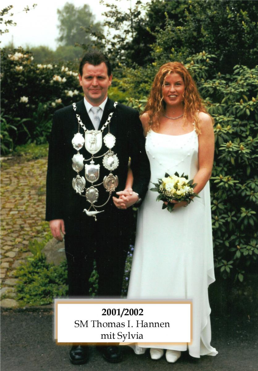 SM 2001/02 Thomas I Hannen mit Sylvia