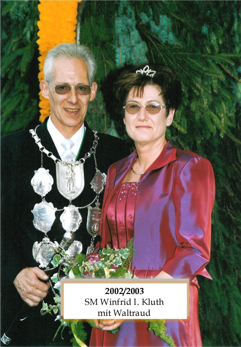SM 2002/03 Winfrid I Kluth mit Waltraud