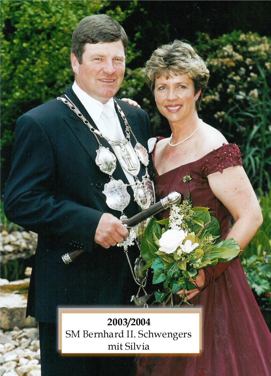 SM 2003/04 Bernhard II Schwengers mit Silvia