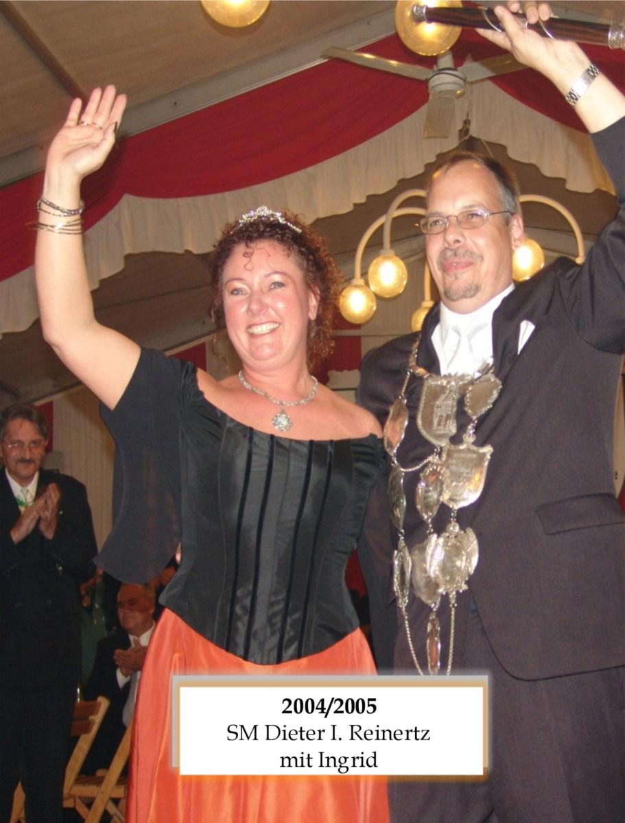 SM 2004 Dieter I Reinertz mit Ingrid