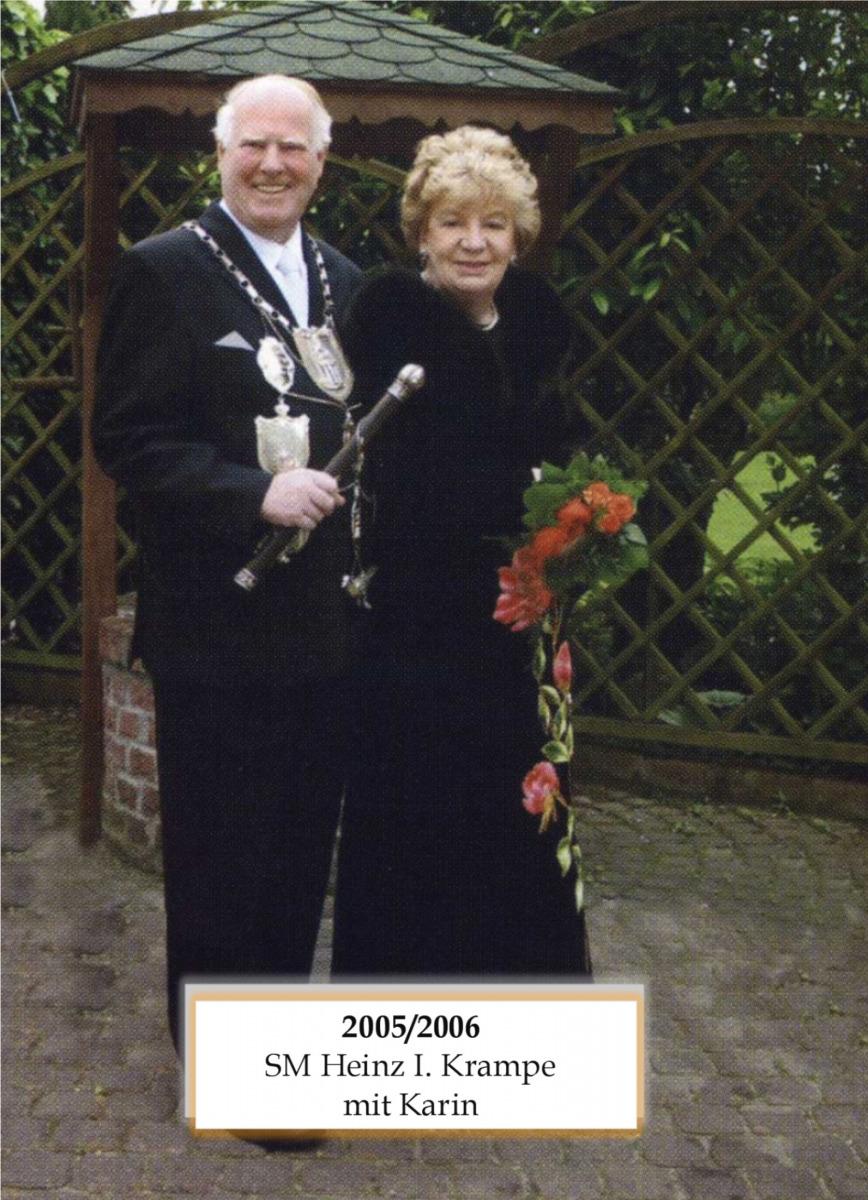 SM 2005/06 Heinz I Krampe mit Karin