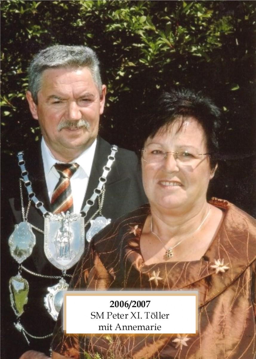 SM 2006/07 Peter XI Töller mit Annemarie