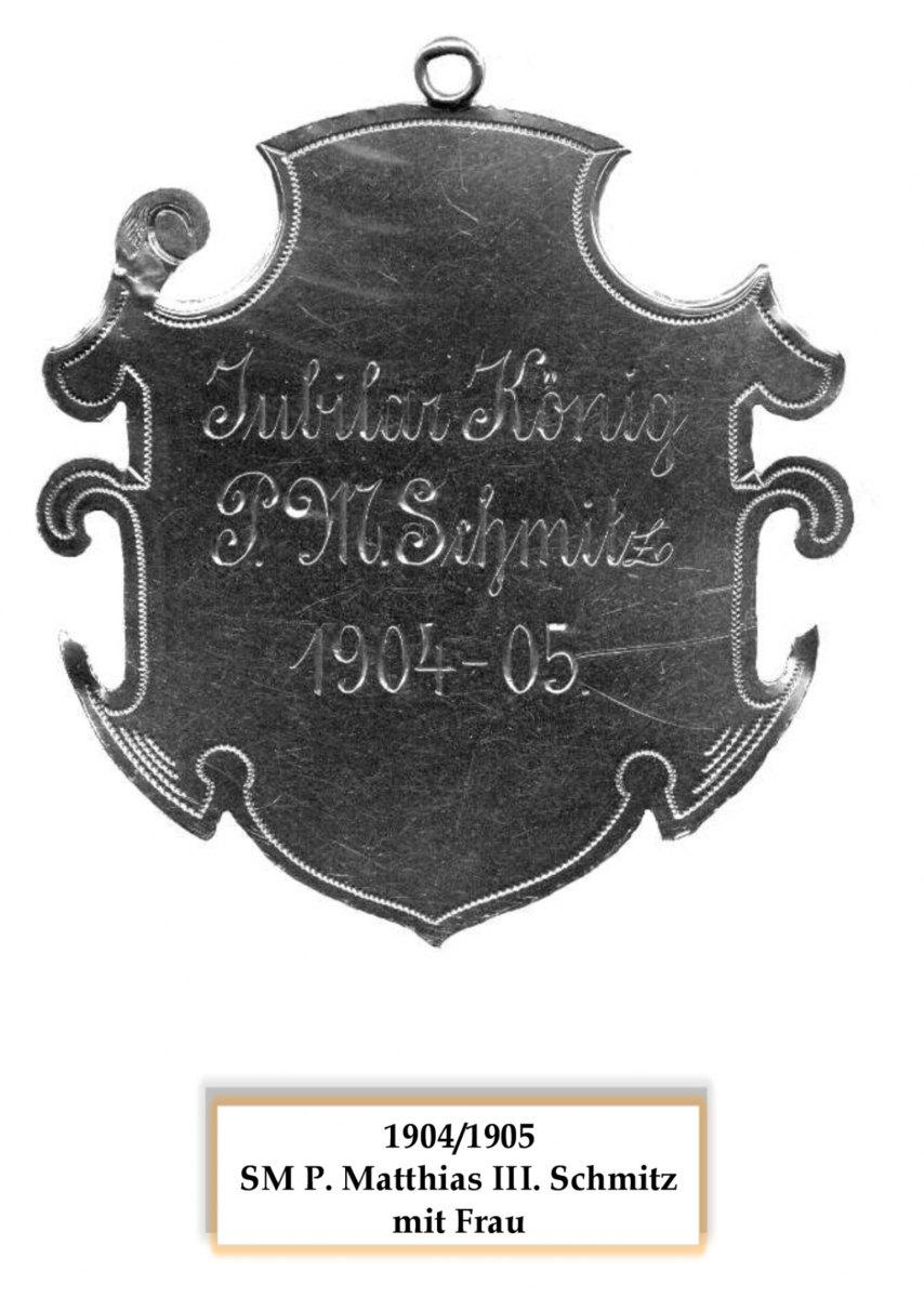 SM 1904/05 Matthias III Schmitz
