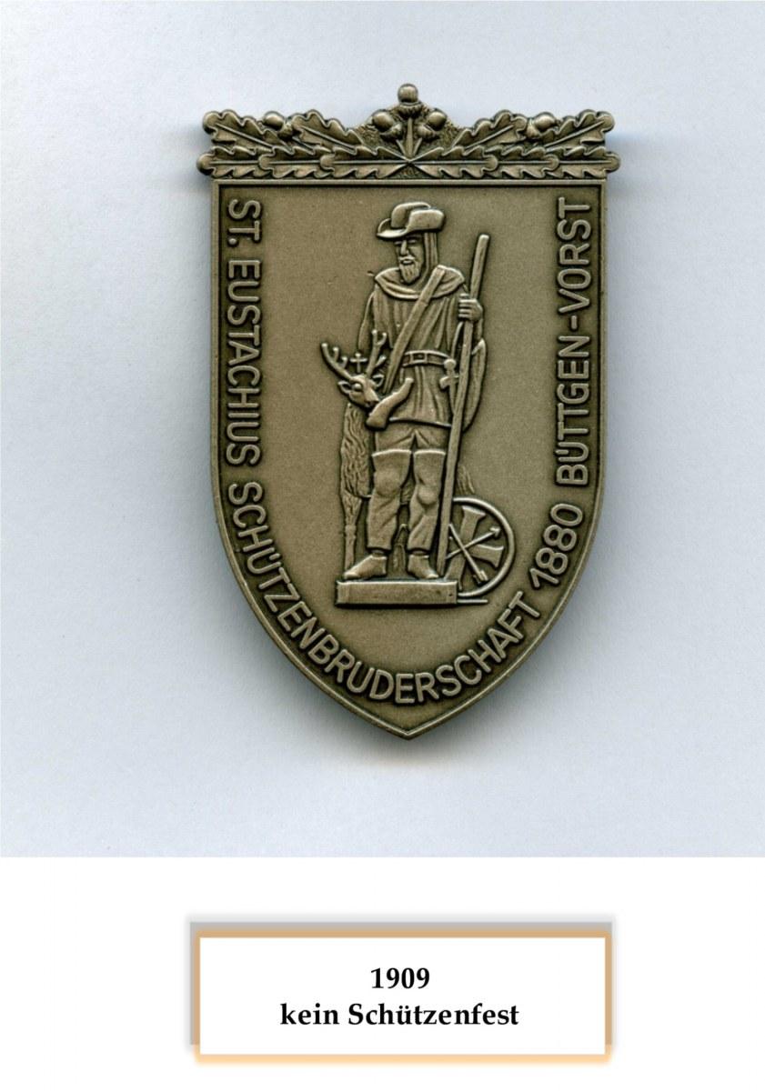 1909 keine Schützenfest