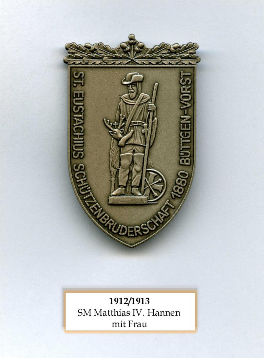 SM 1912/13 Matthias IV Hannen