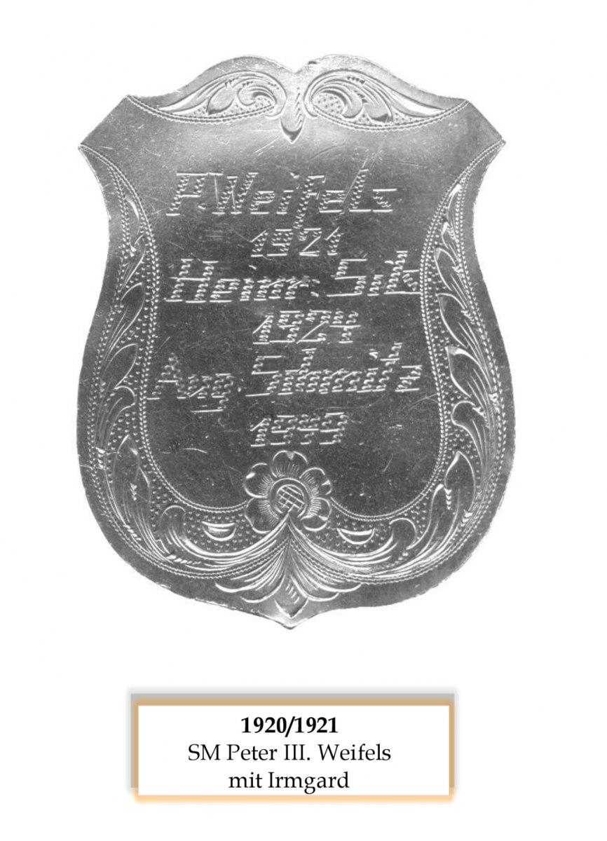 SM 1920/21 Peter III Weifels