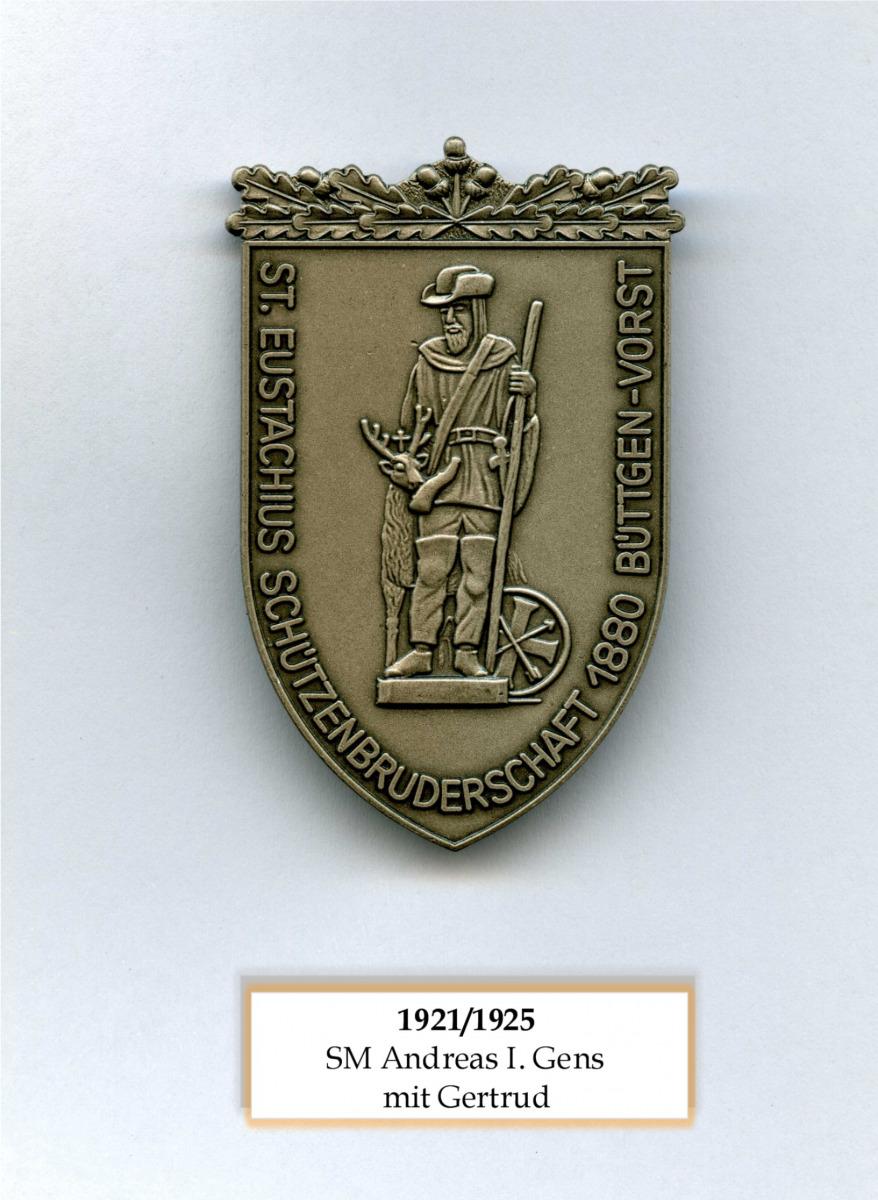SM 1921/25 Andreas I Gens