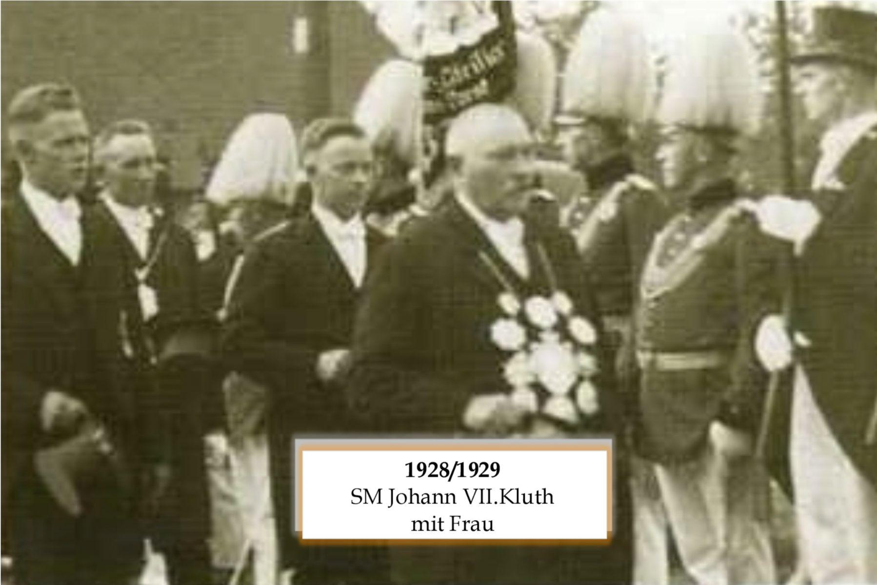 SM 1928/29 Johann VII Kluth