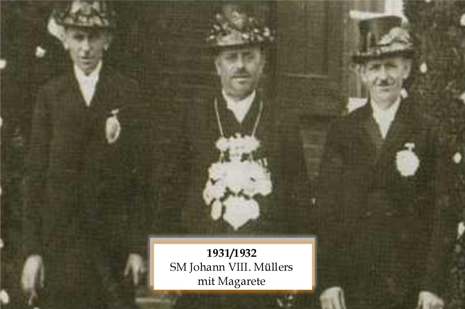 SM 1931/32 Johann VIII Müllers mit Magarete