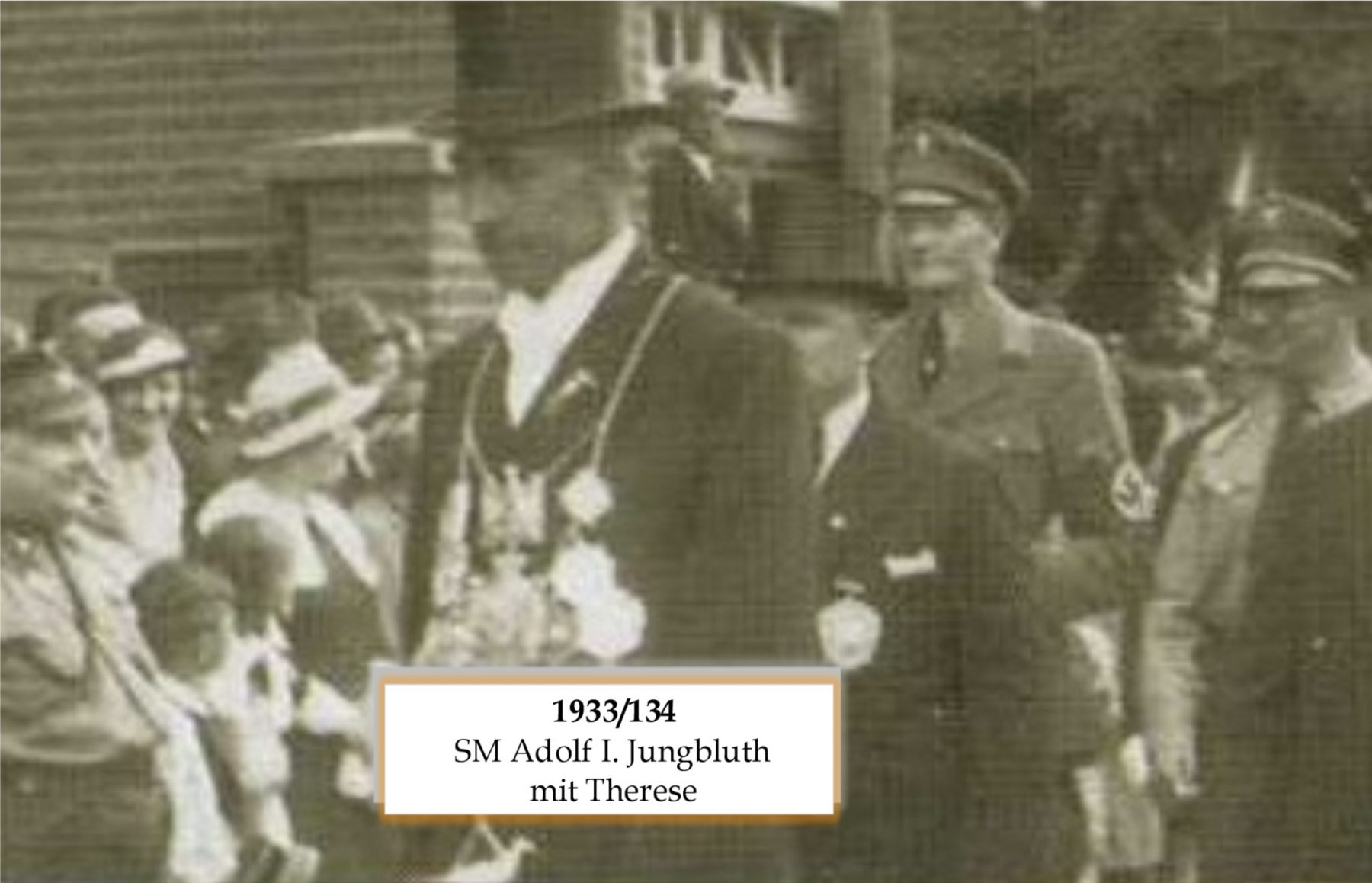 SM 1933/34 Adolf I Jungblut mit Therese
