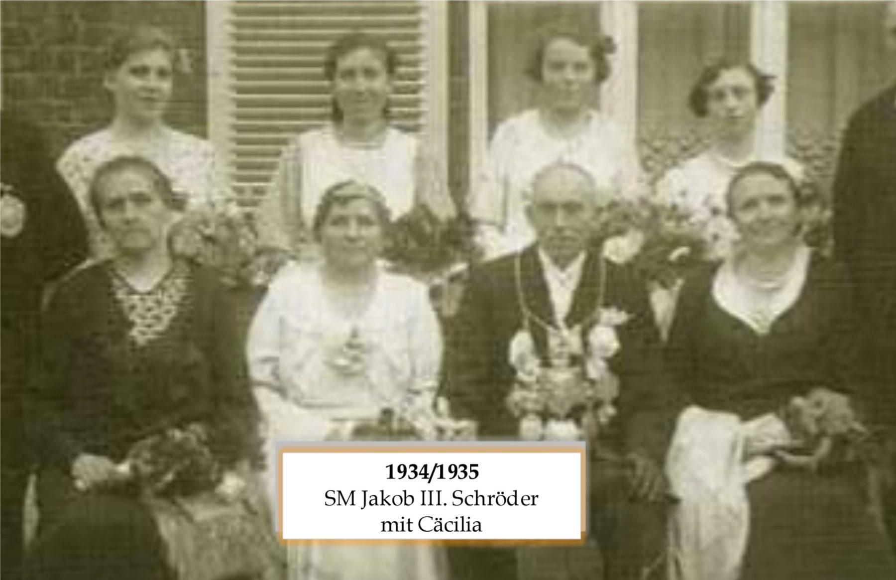 SM 1934/35 Jakob III Schröder mit Cäcilia