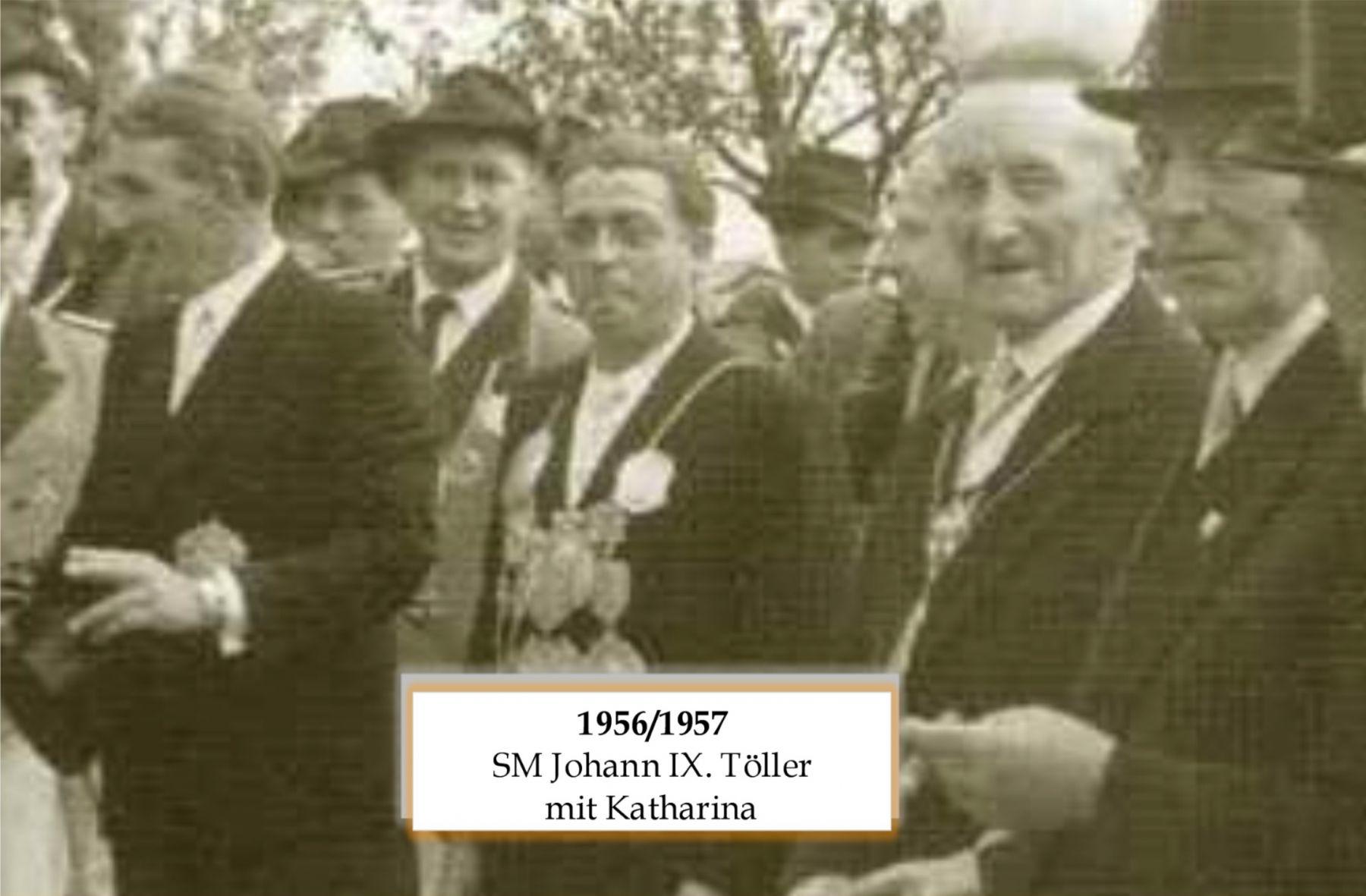 SM 1956/57 Johann IX Töller mit Katharina