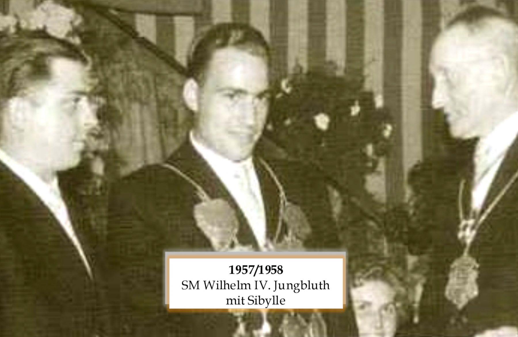 SM 1957/58 Wilhelm Jungbluth mit Sibylle