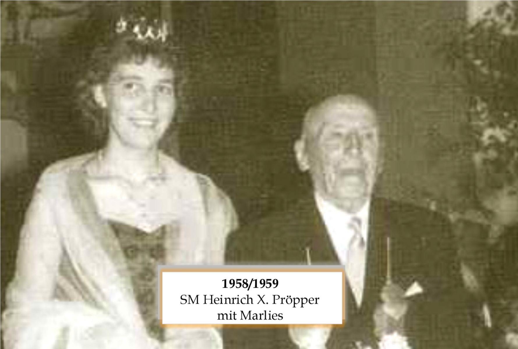 SM 1958 Heinrich X Pröpper mit Marlies