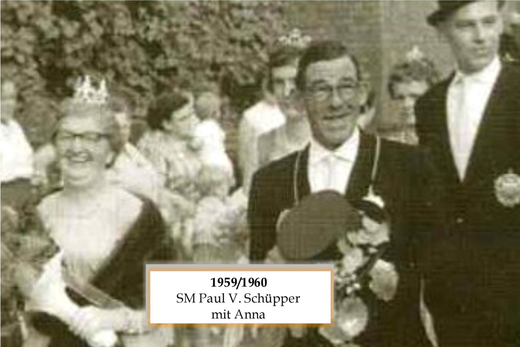 SM 1959/60 Paul V Schüpper mit Anna
