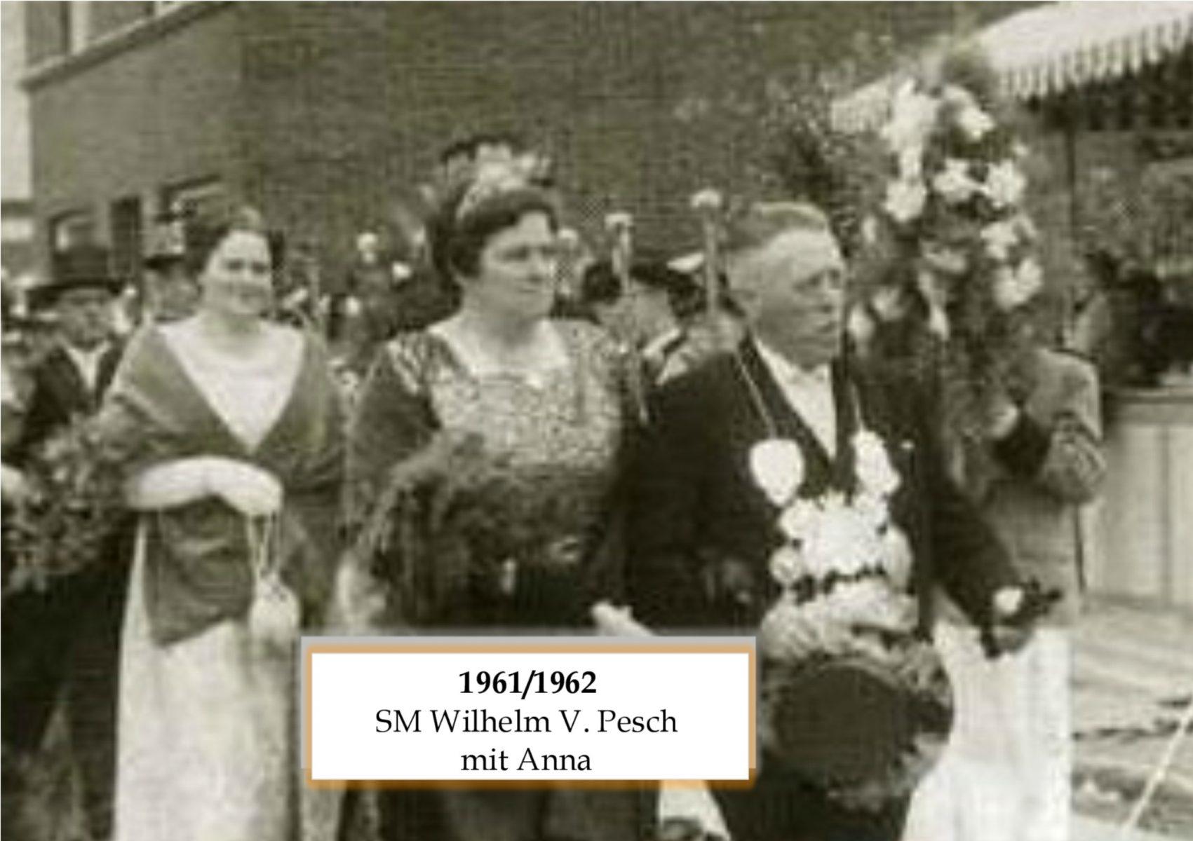 SM 1961/62 Wilhelm V Pesch mit Anna
