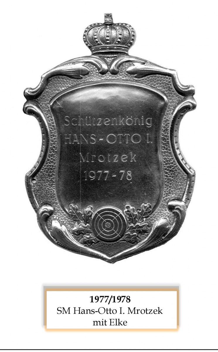 SM 1977/78 Hans-Otto I Mrotzek mir Elke