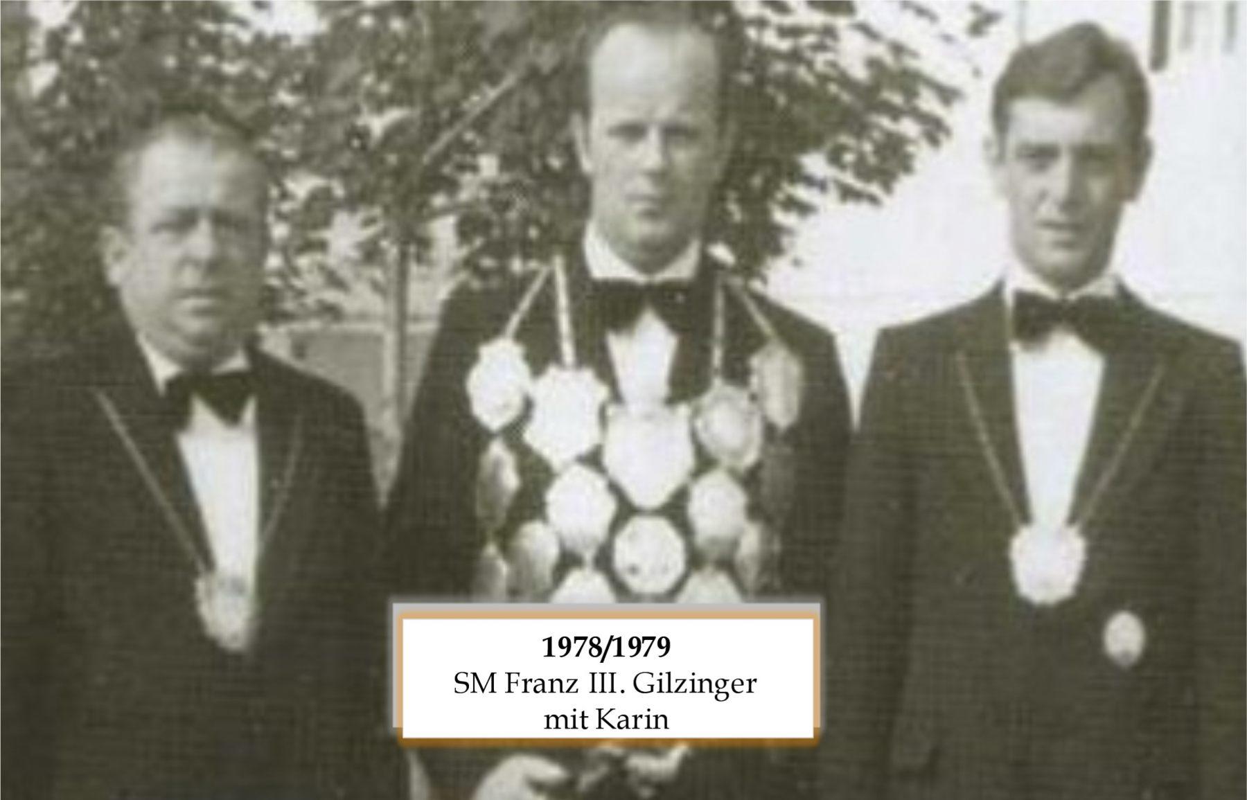 SM 1978/79 Franz III Gilinger mit Karin