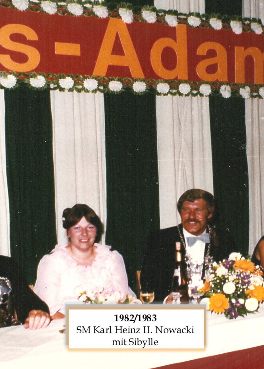SM 1982/83 Karl Heinz Nowacki mit Sibylle