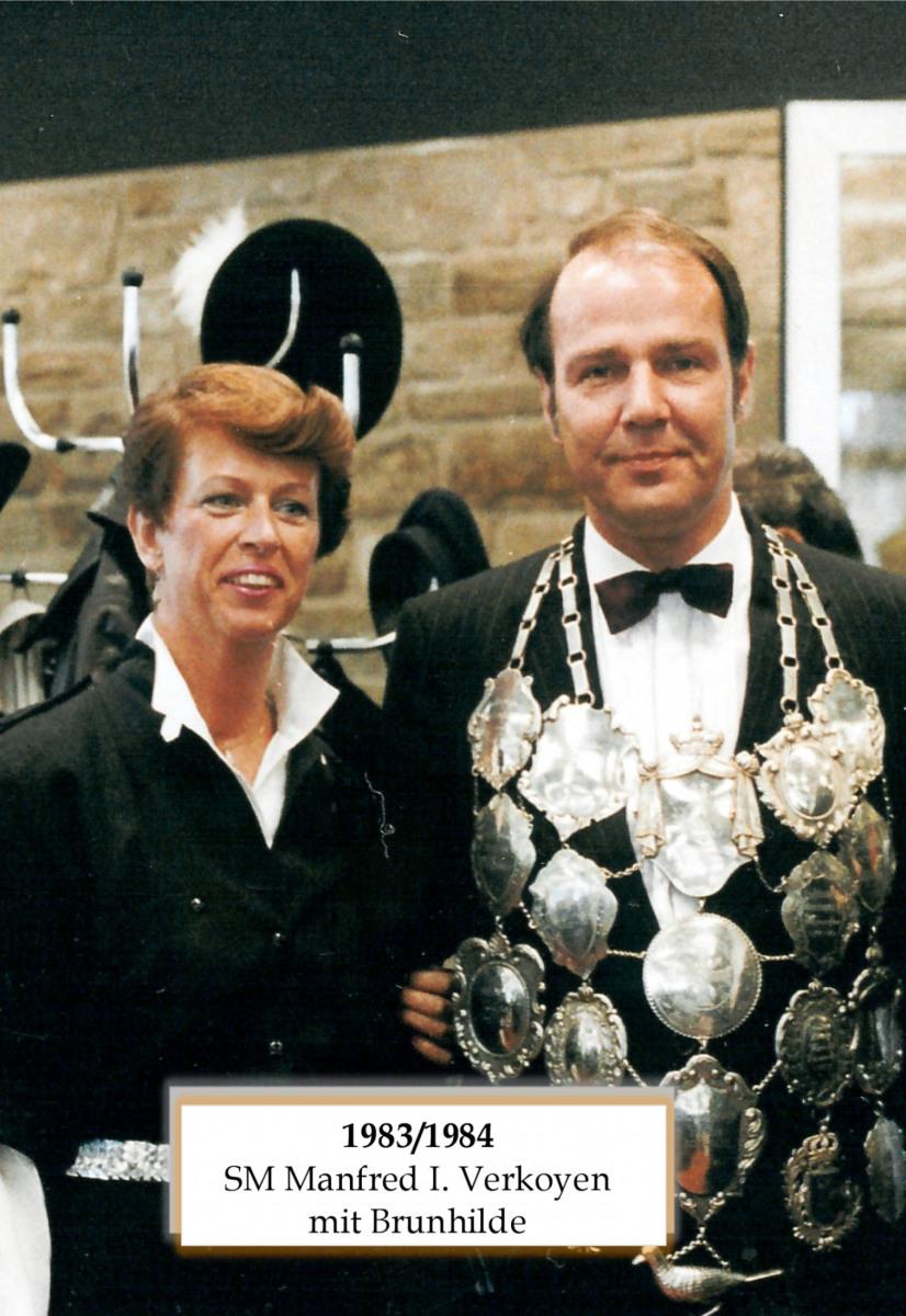 SM 1983/84 Manfred I Verkoyen mit Brunhilde