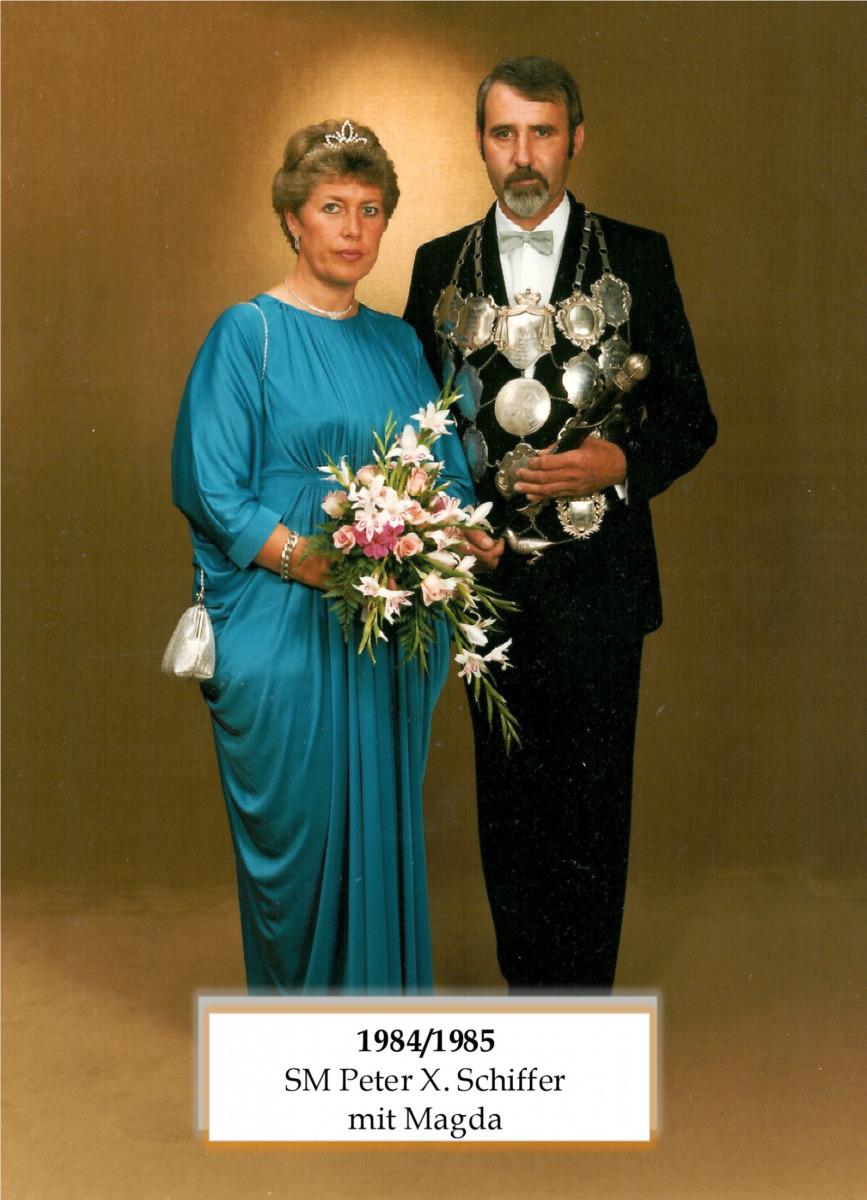 SM 1984/84 Pter X Schiffer mit Magda