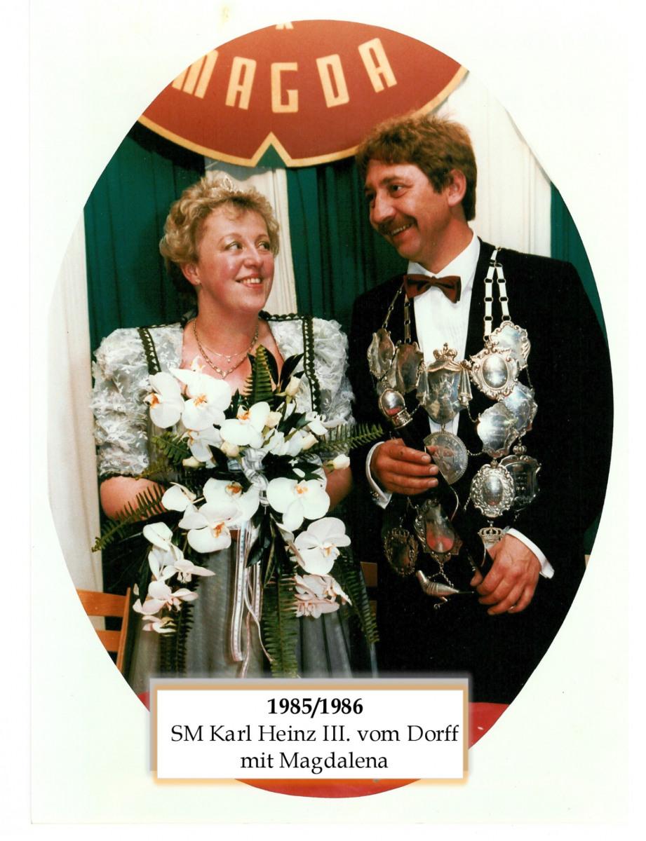 SM 1985(86 Karl Heinz III vom Dorff mit Magdalena
