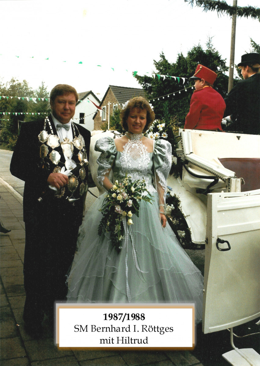 SM 1987/88 Bernhard I Röttges mit Hiltrud