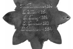 SM 1890/94 Matthais I Tillmann, Johann III Effer, Paul Pannen, Peter IV Hannen (Betz))