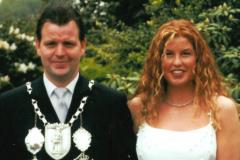 SM 2001/02 Thomas I. Hannen mit Sylvia